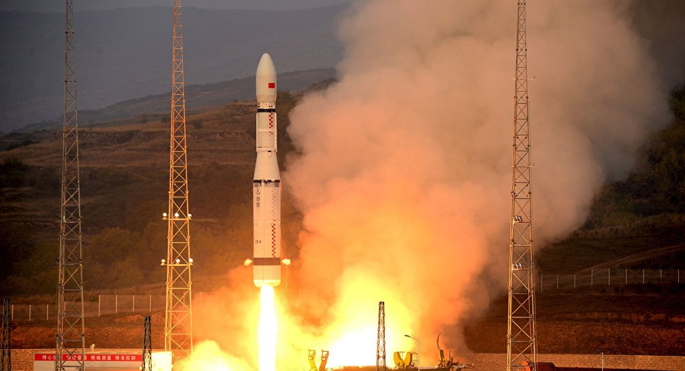 中国一箭发射三星 将主要用于开展电磁环境探测
