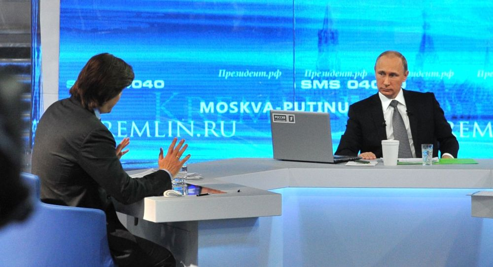 克里姆林宫:与普京的直播连线将于6月7日举行