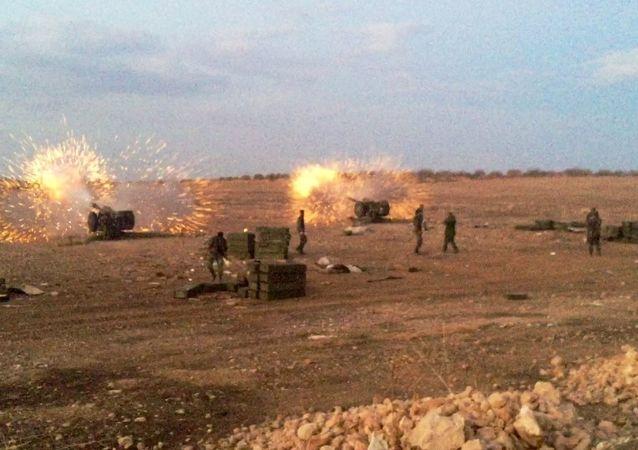 """""""伊斯兰国""""恐怖分子通过不同路线向叙哈马省转移"""