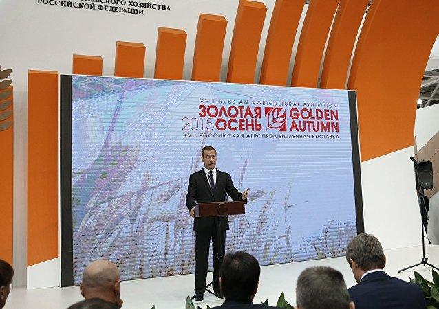 俄总理:俄回应西方制裁而实施的食品禁运对俄农工综合体产生有利影响