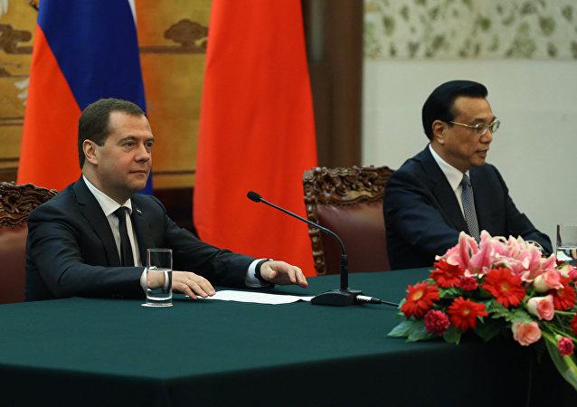 俄总理年底将访华  资料