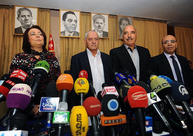 突尼斯政治组织获2015诺贝尔和平奖