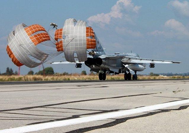 俄军机在叙利亚摧毁伊斯兰国60个据点