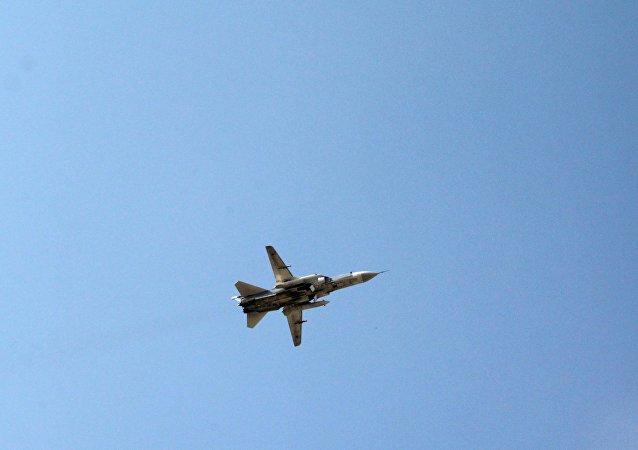 俄罗斯苏-24飞机在叙利亚