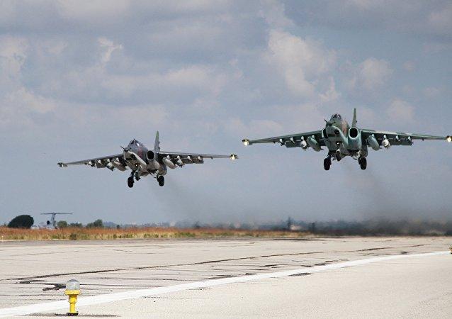 空军集群司令部:俄军在叙利亚空袭行动中无损失