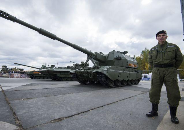 俄乌拉尔车辆制造厂正在研究坦克遥控技术