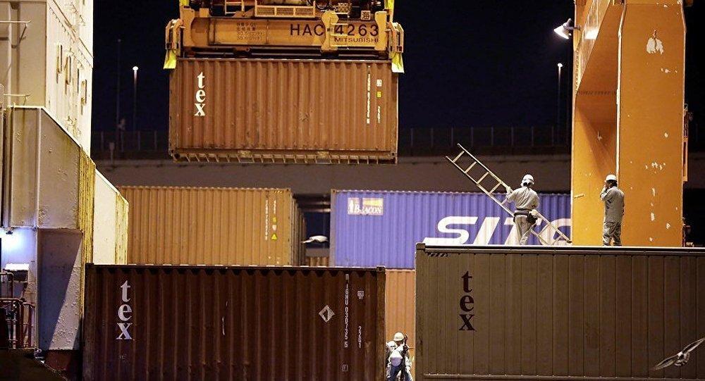 俄罗斯将向中国发出装载出口食品集装箱班列