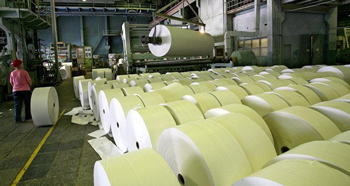 媒体:中国投资者或将出资十亿美元建设西伯利亚纸浆厂
