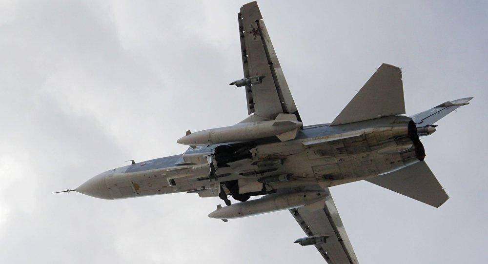 苏-24战斗轰炸机/资料图片/