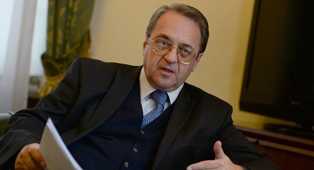 俄罗斯外交部副部长波格丹诺夫