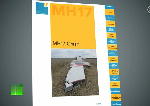 美国国务院解释荷兰安理会报告的调查结果有利于对波音777坠毁的假设