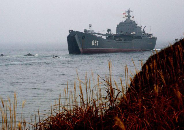俄太平洋舰队舰艇 资料图