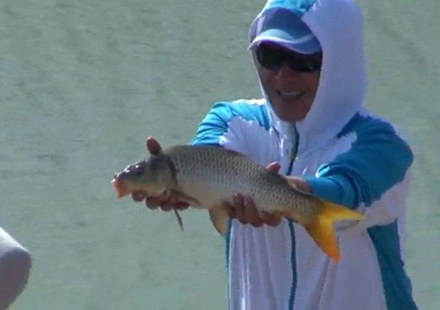 中国运动钓鱼协会考察团首次赴俄考察
