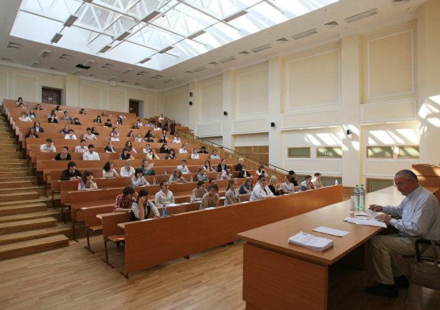 每20个俄大学生中就有1名外国留学生