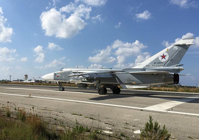 俄空天部队在叙利亚