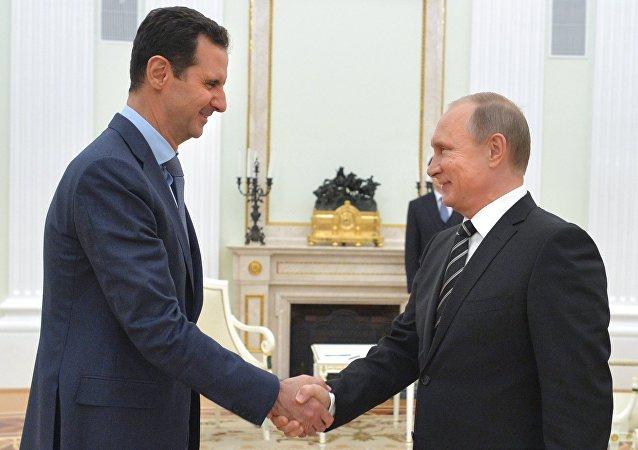 美国防部:俄在叙行动巩固阿萨德地位