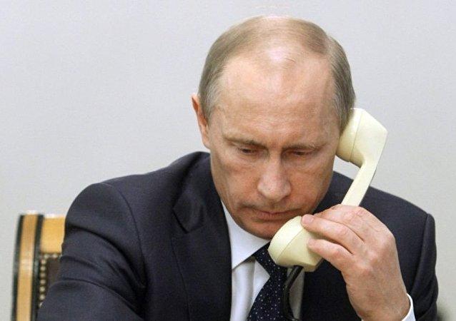 普京致尼日利亚总统电报:俄支持尼反恐努力