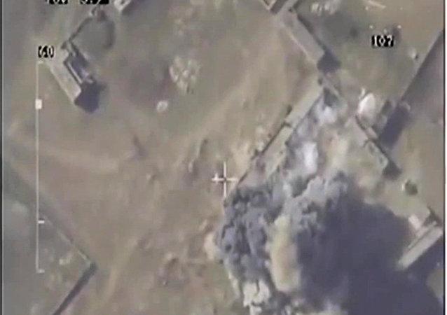 在叙利亚的俄罗斯空军上周摧毁了恐怖组织的363处设施