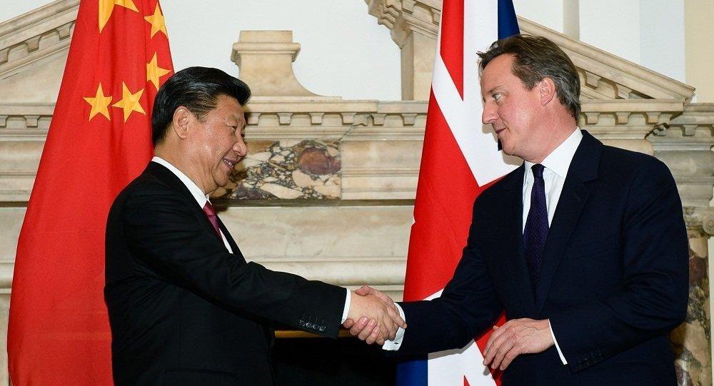 中英领导人将在晚宴上讨论国际问题