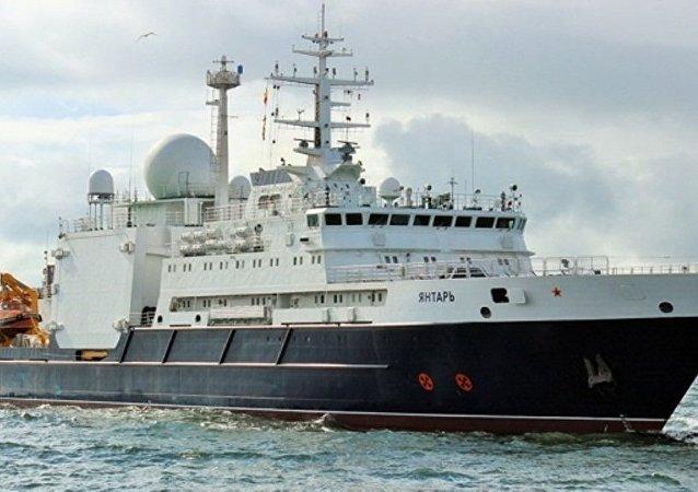 美国怀疑俄科考船从事间谍活动