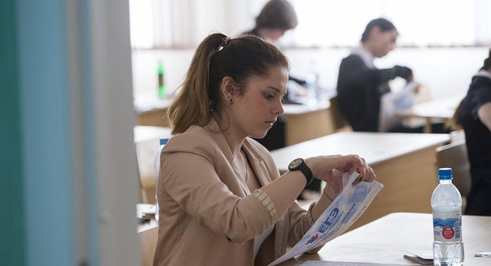 媒体:俄国家统一考试汉语科目考试测试发现诸多问题