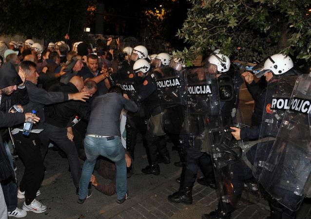 黑山人不想成为对抗俄罗斯的集团成员