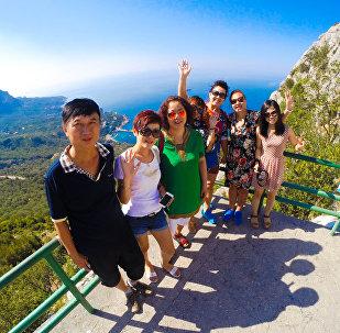 中國旅客在克里米亞