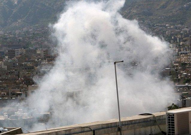 阿拉伯联军在也门称轰炸的不是中学而是叛军营地