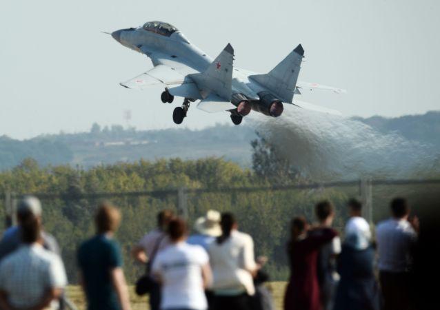 俄第四代歼击机米格-35/国际航展/
