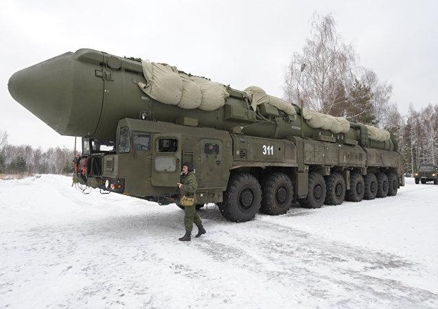 俄战略火箭军成功试射亚尔斯洲际弹道导弹