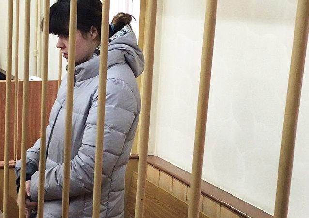 莫斯科法院依刑法反恐条款逮捕莫斯科大学女学生卡拉乌洛娃