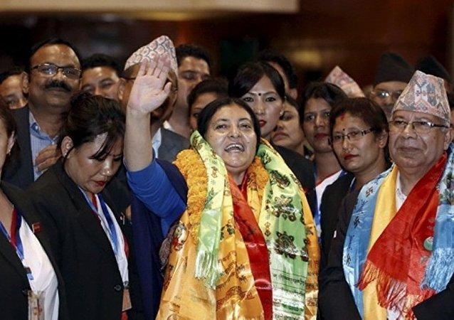 尼泊尔总统班达里女士