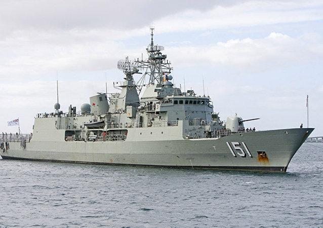 澳国防部:澳驱逐舰将参加中澳南海联合军演