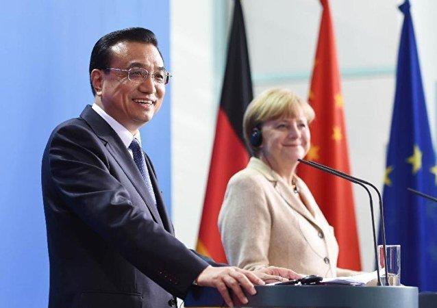 中德两国今日签署金融等领域十余文件