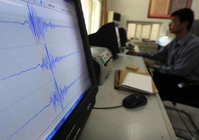 太平洋汤加海域发生5.6级地震