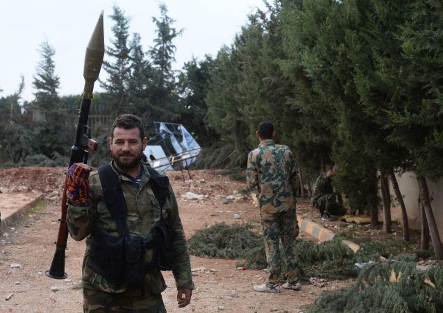叙利亚特种兵
