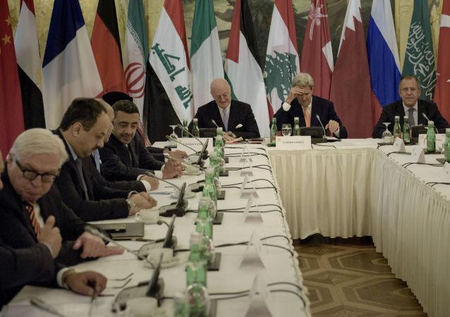 叙利亚问题多方部长会谈  资料图片
