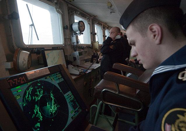 俄里海区舰队开始突击战备检查