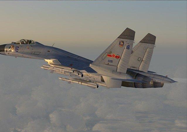 中国以载弹战机回应美国海军行动
