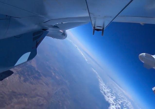 俄罗斯与土耳其在阿勒颇省进行了反对伊斯兰国组织的联合空中行动