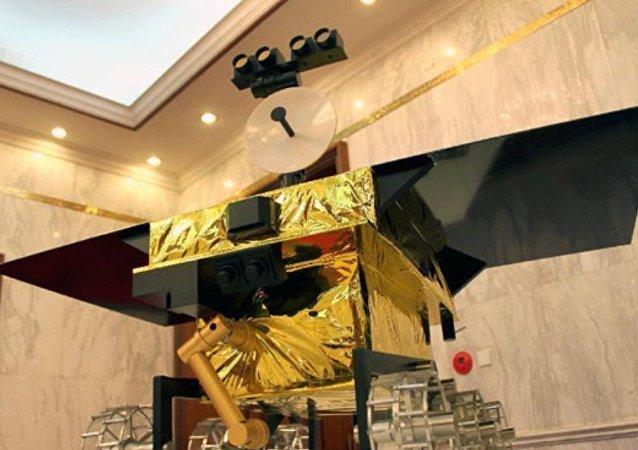 中国火星探测器首次亮相