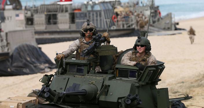 美国海军陆战队员