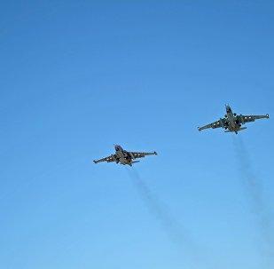 俄戰機再敘利亞