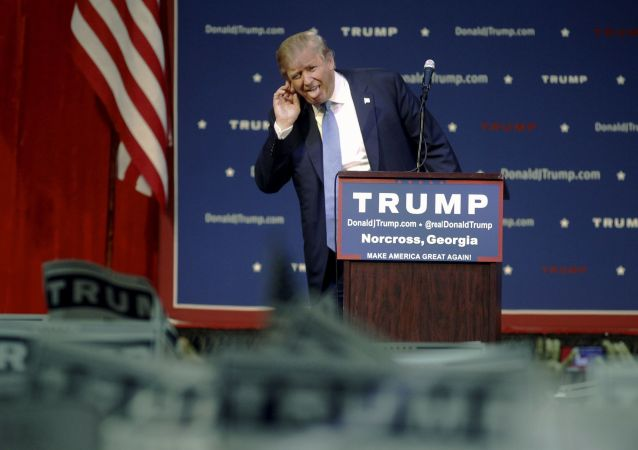 前总统侯选人桑德斯:特朗普当选总统将成为美国的灾难