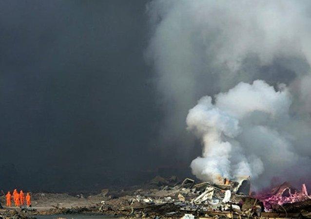 """8∙12""""爆炸事故天津港区企业管理单位总裁被免职"""