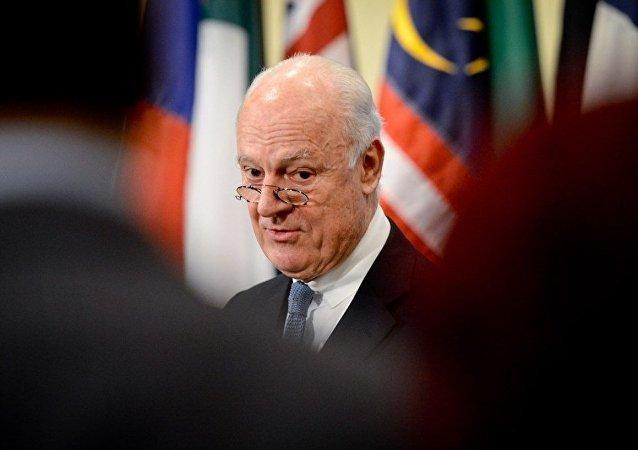 德米斯图拉:联合国希望参加阿斯塔纳叙利亚问题会谈