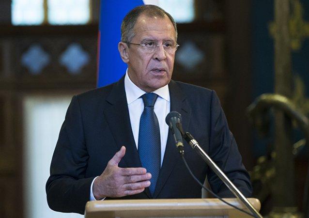俄外长:莫斯科希望各国支持联合国秘书长叙利亚问题特使做出的努力