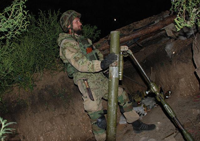 顿涅茨克证实拟于11月5日开始从接触线撤离迫击炮