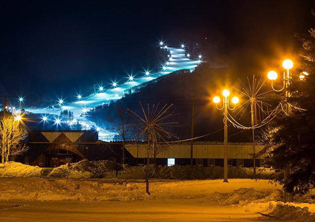 南萨哈林斯克滑雪胜地