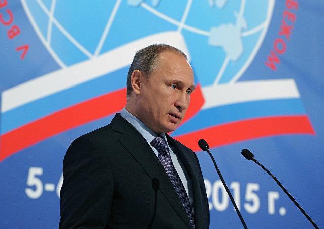 普京:俄罗斯永远都将维护海外同胞的利益